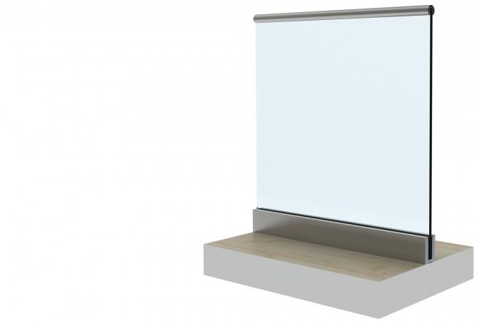B40 Frameless Glass Balustrade Ba Systems Construction