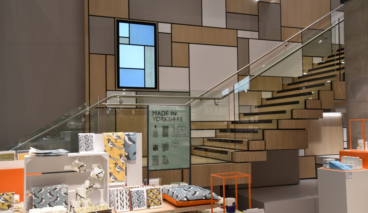 John Lewis Leeds 08 - Feature Stair
