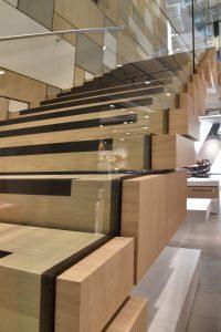 John Lewis Leeds- Stair fixing detail