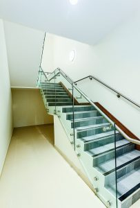 Gatwick Diamond - B40 stair balustrade - Actual