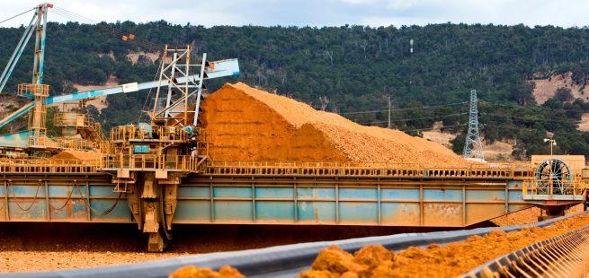 Aluminium Manufacture - Bauxite Mine Australia