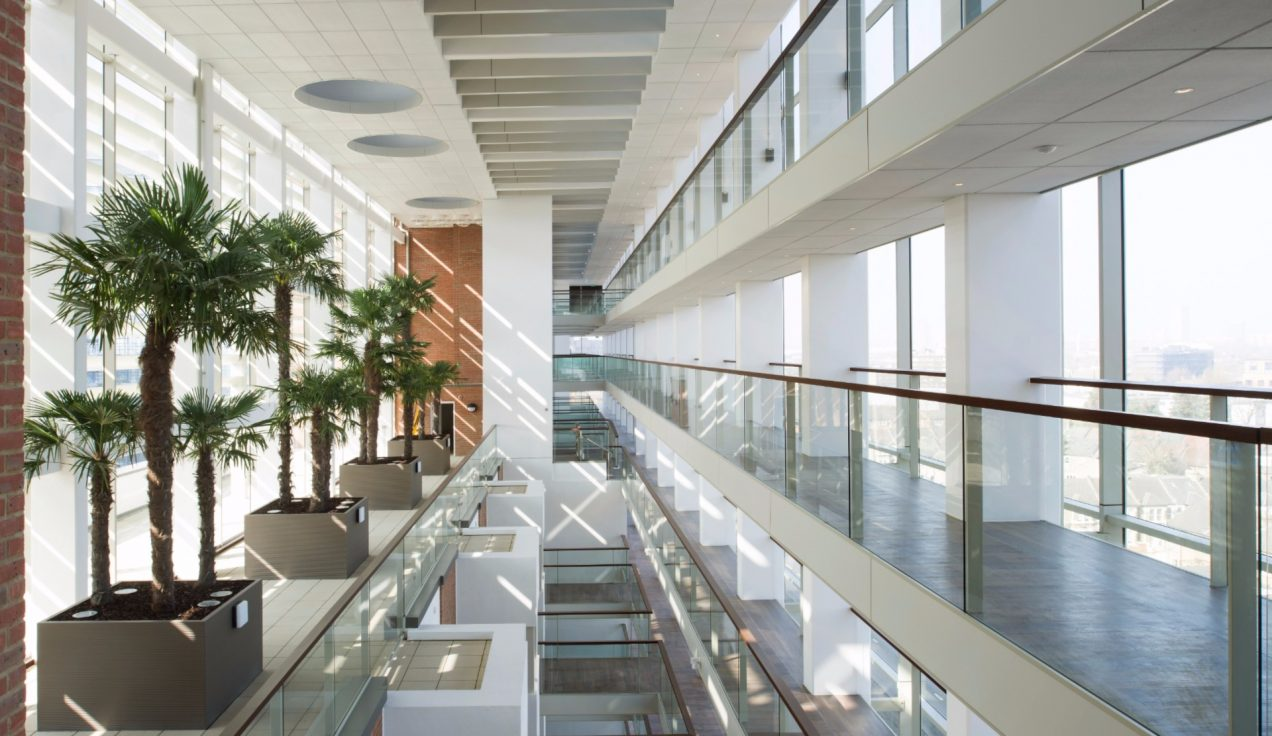 1 - Atrium Building, East City Point Internal