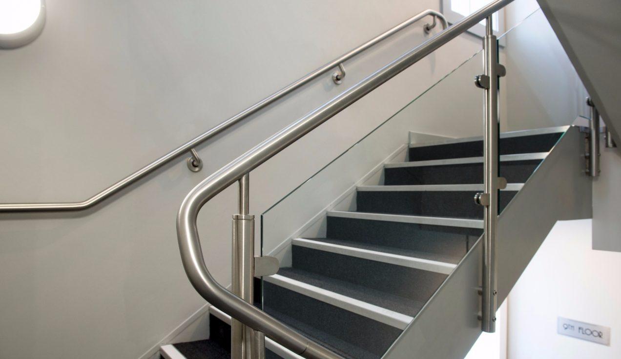 12 Paddington Exchange - B20 Post & Glass Stair Balustrade