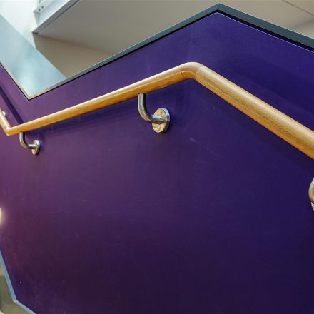 Timber handrail to main stair image