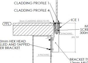 Fixing Detail - Ice to Steel Beam