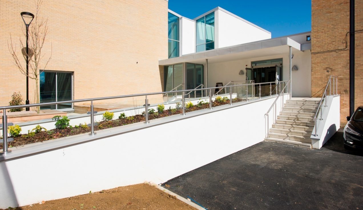 01 - Iffley Road Leisure Centre - External Balustrades