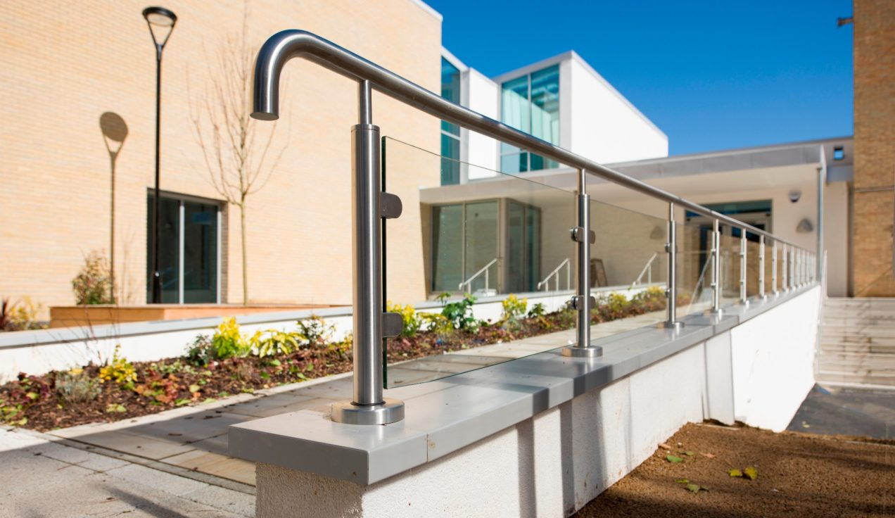 02 - Iffley Road Leisure Centre - External Balustrades