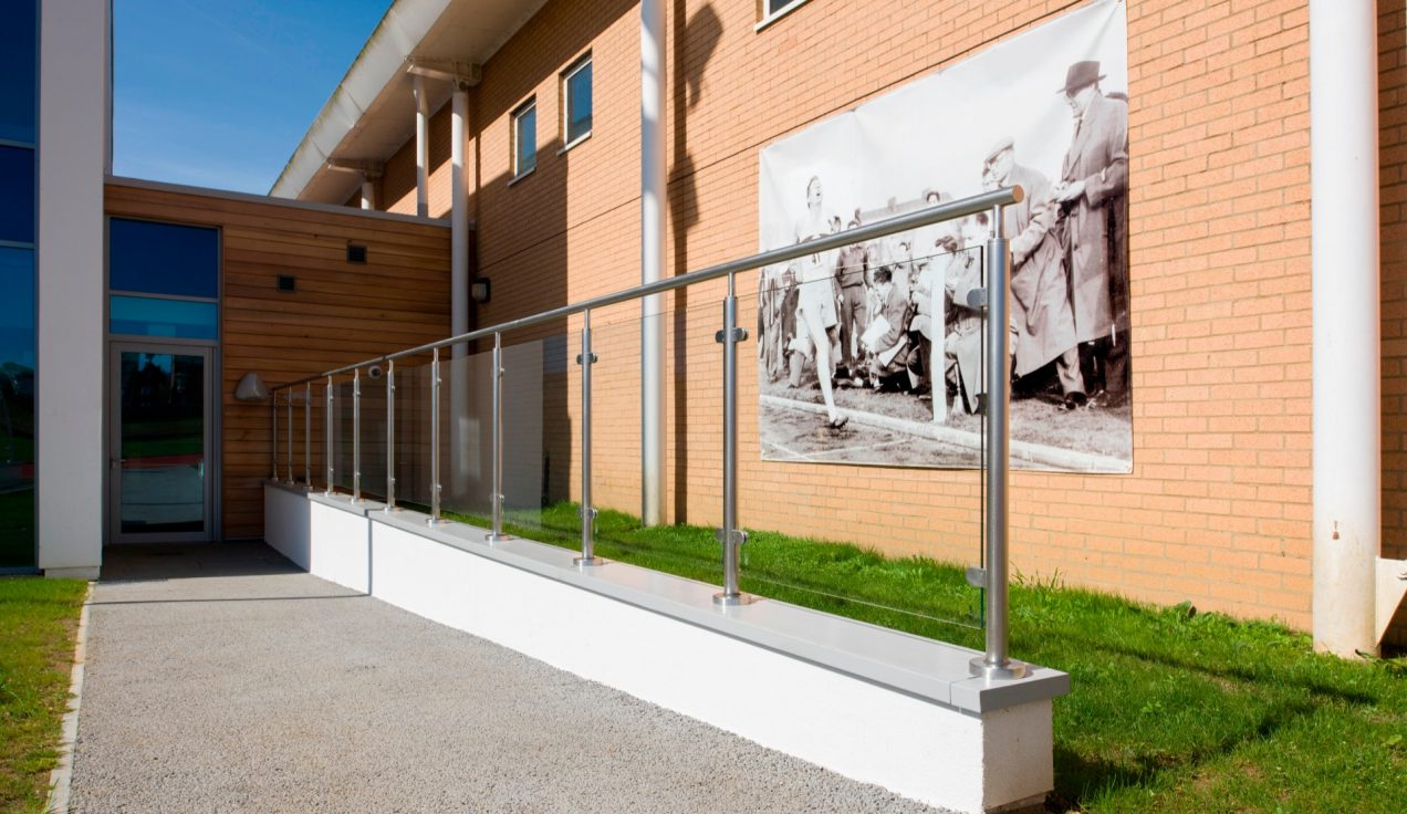 04 - Iffley Road Leisure Centre - External Balustrades