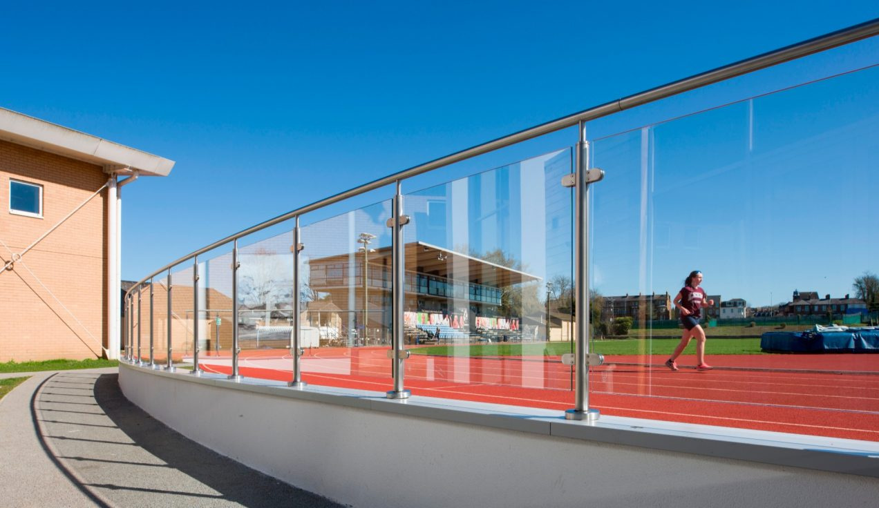 06 - Iffley Road Leisure Centre - External Balustrades