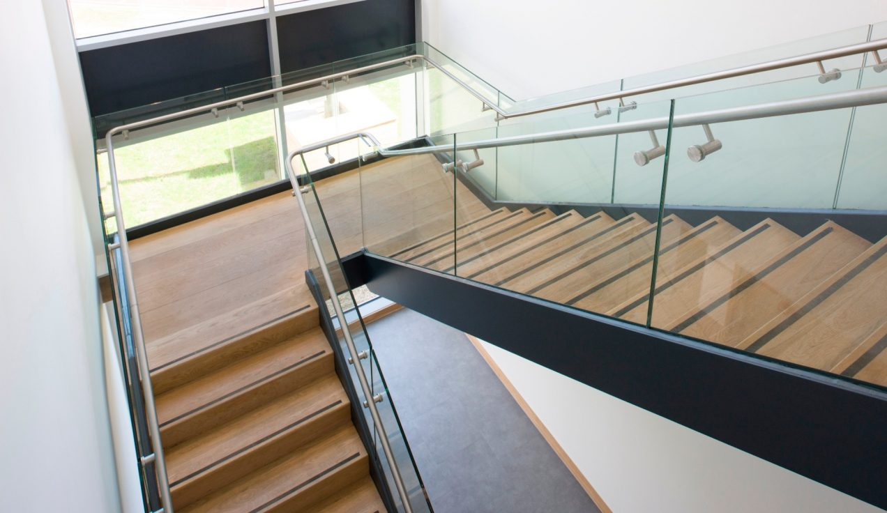 10 - Iffley Road Leisure Centre - Internal Balustrades