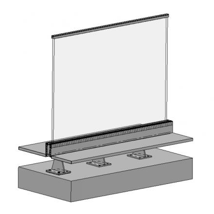 Bespoke steel brackets image