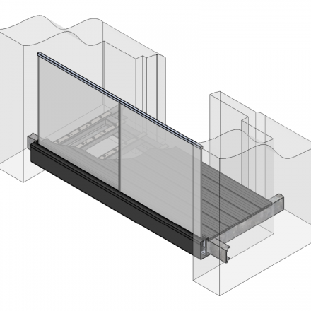 Full external balcony system image