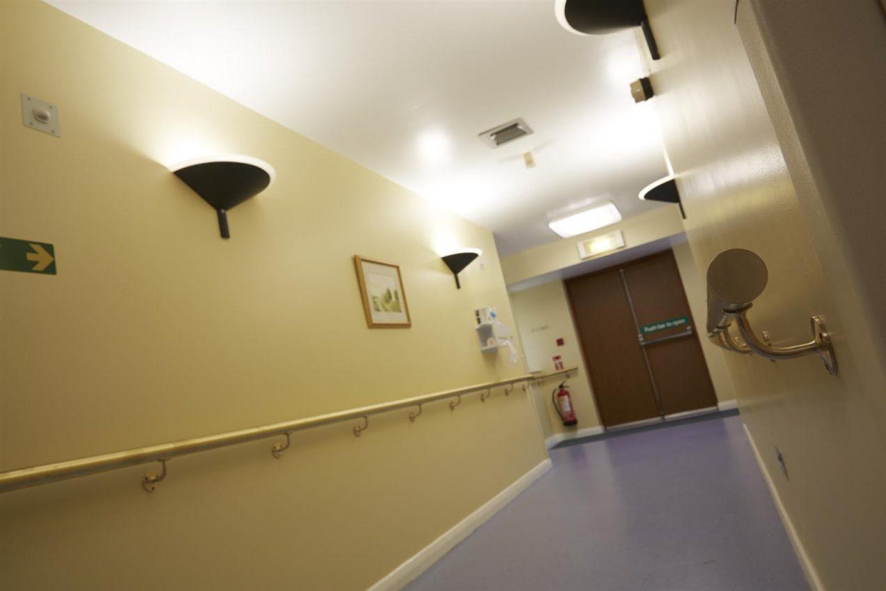 Corridor Handrails