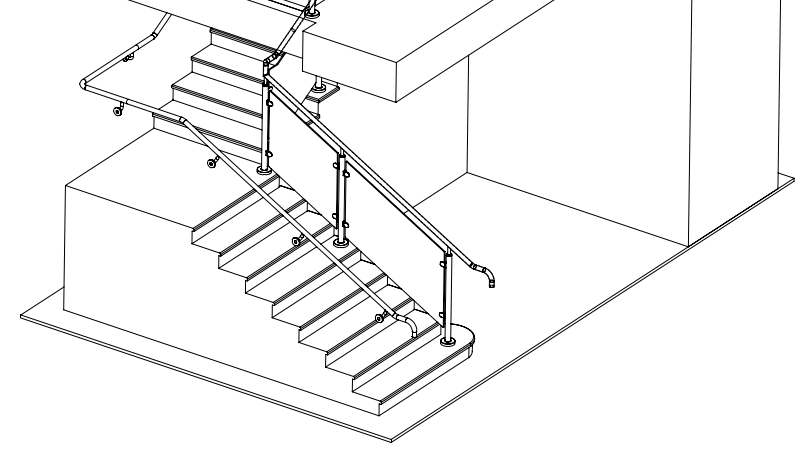04 Stair Drawing