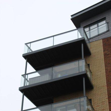 Steel Balconies  image